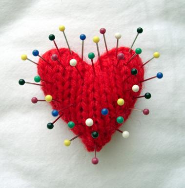hjertemednåle